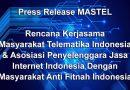 Rencana Kerjasama MASTEL & APJII Dengan Masyarakat Anti Fitnah Indonesia