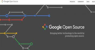 Google Open Source Website