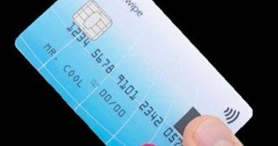 Kini Kartu Kredit Dipasangi Sensor Sidik Jari