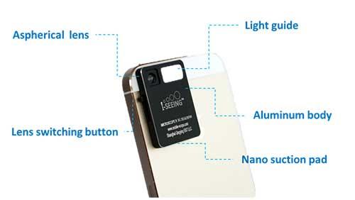 Alat Ini Akan Ubah Kamera Pada Ponsel Pintar Jadi Mikroskop