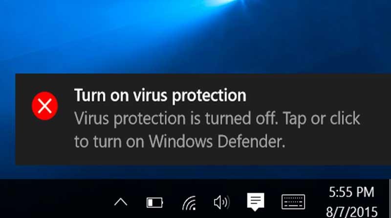 Microsoft Nonaktifkan Aplikasi Anti Virus Di Windows 10