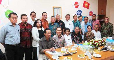 Kunjungan Menteri Komunikasi dan Informatika ke MASTEL