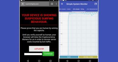 Malware Ini Bajak Ponsel Android Untuk Tambang Mata Uang Kripto