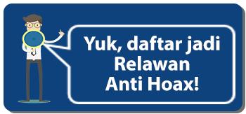 Daftar Relawan Anti Hoax