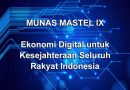 MUNAS IX:  Ekonomi Digital untuk Kesejahteraan Seluruh Rakyat Indonesia